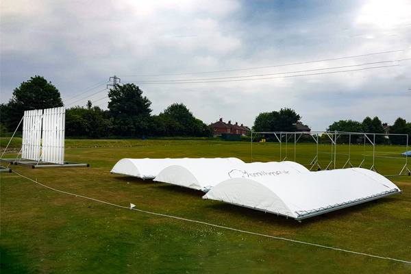 Stuart Canvas Branded Mobile Cricket Covers